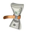 Belt tightening around cash